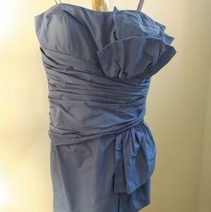 Max and Cleo cornflower blue party dress